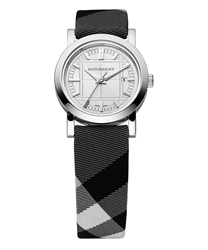 Burberry Round 3-Hand Date Ladies Watch Model BU1386