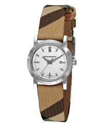 Burberry Round 3-Hand Date Ladies Watch Model BU1387