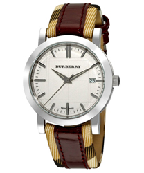 Burberry Round 3-Hand Date Unisex Watch Model BU1389