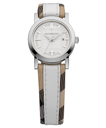 Burberry Round 3-Hand Date Ladies Watch Model BU1395