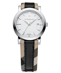 Burberry Round 3-Hand Date Ladies Wristwatch