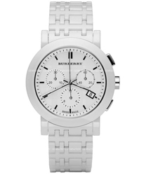 Burberry Ceramic Unisex Wristwatch