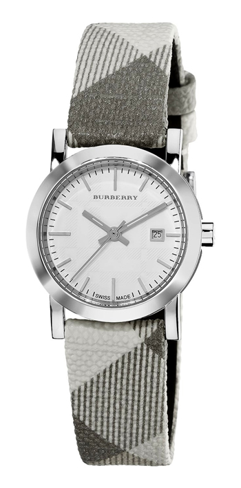 Burberry Smoked Check Round Ladies Wristwatch Model: BU1799