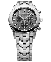 Burberry Round Check Mens Wristwatch