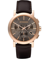 Burberry Herringbone Mens Wristwatch