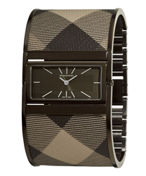 Burberry Reversible Check Bangle Ladies Watch Model BU4930