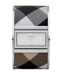 Burberry Reversible Check Bangle Ladies Wristwatch