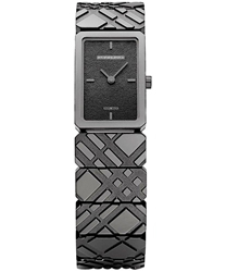 Burberry Check Engraved Ladies Watch Model BU5501