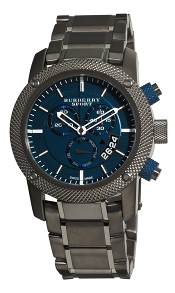 Burberry Sport Chronograph Mens Wristwatch Model: BU7718