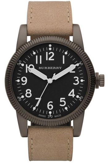 Burberry Heritage Military Mens Wristwatch Model: BU7806