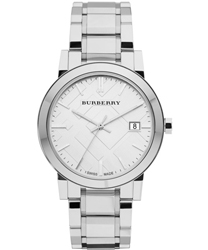 Burberry Check Dial Unisex Wristwatch Model: BU9000