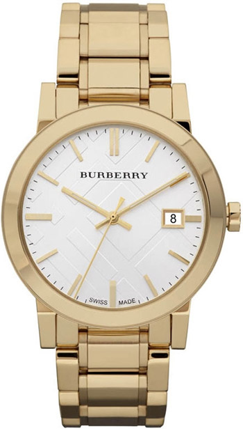 Burberry Check Dial 38mm Unisex Watch Model BU9003