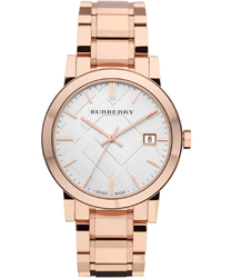 Burberry Check Dial Unisex Wristwatch Model: BU9004
