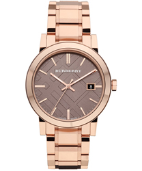 Burberry Check Dial Unisex Wristwatch Model: BU9005