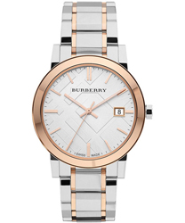 Burberry Check Dial Unisex Wristwatch