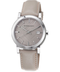 Burberry Check Dial Unisex Wristwatch Model: BU9010