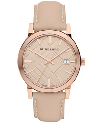 Burberry Check Dial Unisex Wristwatch Model: BU9014