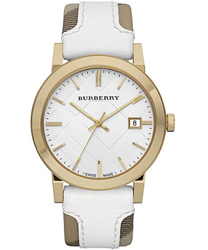 Burberry Check Dial Unisex Wristwatch Model: BU9015