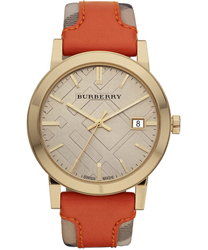 Burberry Check Dial Unisex Wristwatch Model: BU9016