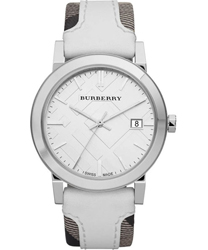 Burberry Check Dial Unisex Watch Model BU9019
