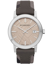 Burberry Check Dial Unisex Wristwatch Model: BU9020