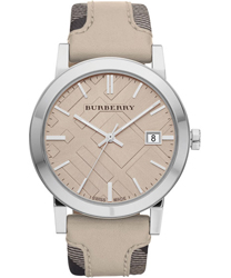 Burberry Check Dial Unisex Wristwatch Model: BU9021