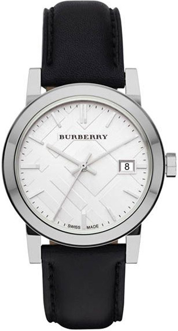 Burberry Check Dial 34mm Ladies Watch Model BU9106