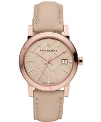 Burberry Check Dial Ladies Watch Model BU9109