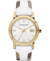 Burberry Check Dial Ladies Watch Model BU9110
