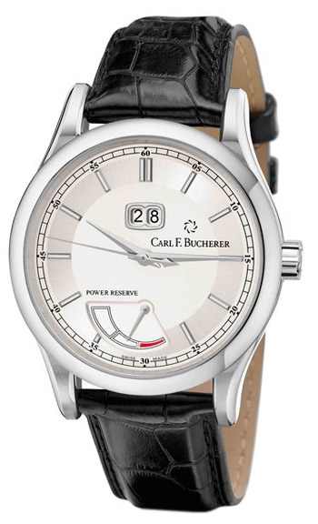Carl F. Bucherer Manero BigDate Power Mens Wristwatch Model: 00.10905.08.13.01