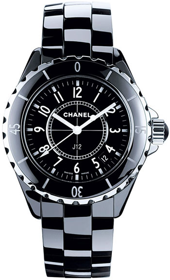 Chanel J12 33mm Ladies Watch Model H0682