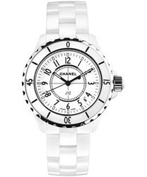 Chanel J12 Quartz 33mm Unisex Watch Model H0968