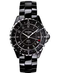 Chanel J12 GMT 41mm Men's Watch Model H3102