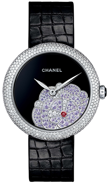 Chanel Mademoiselle Prive Ladies Watch Model H3468