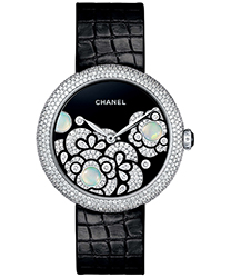Chanel Mademoiselle Prive Ladies Watch Model: H3469