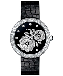 Chanel Mademoiselle Prive Ladies Watch Model H3470