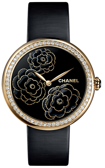 Chanel Mademoiselle Prive Ladies Watch Model H3567