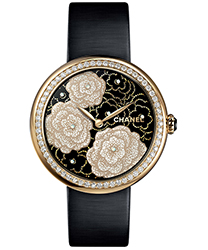 Chanel Mademoiselle Prive Ladies Watch Model H3823