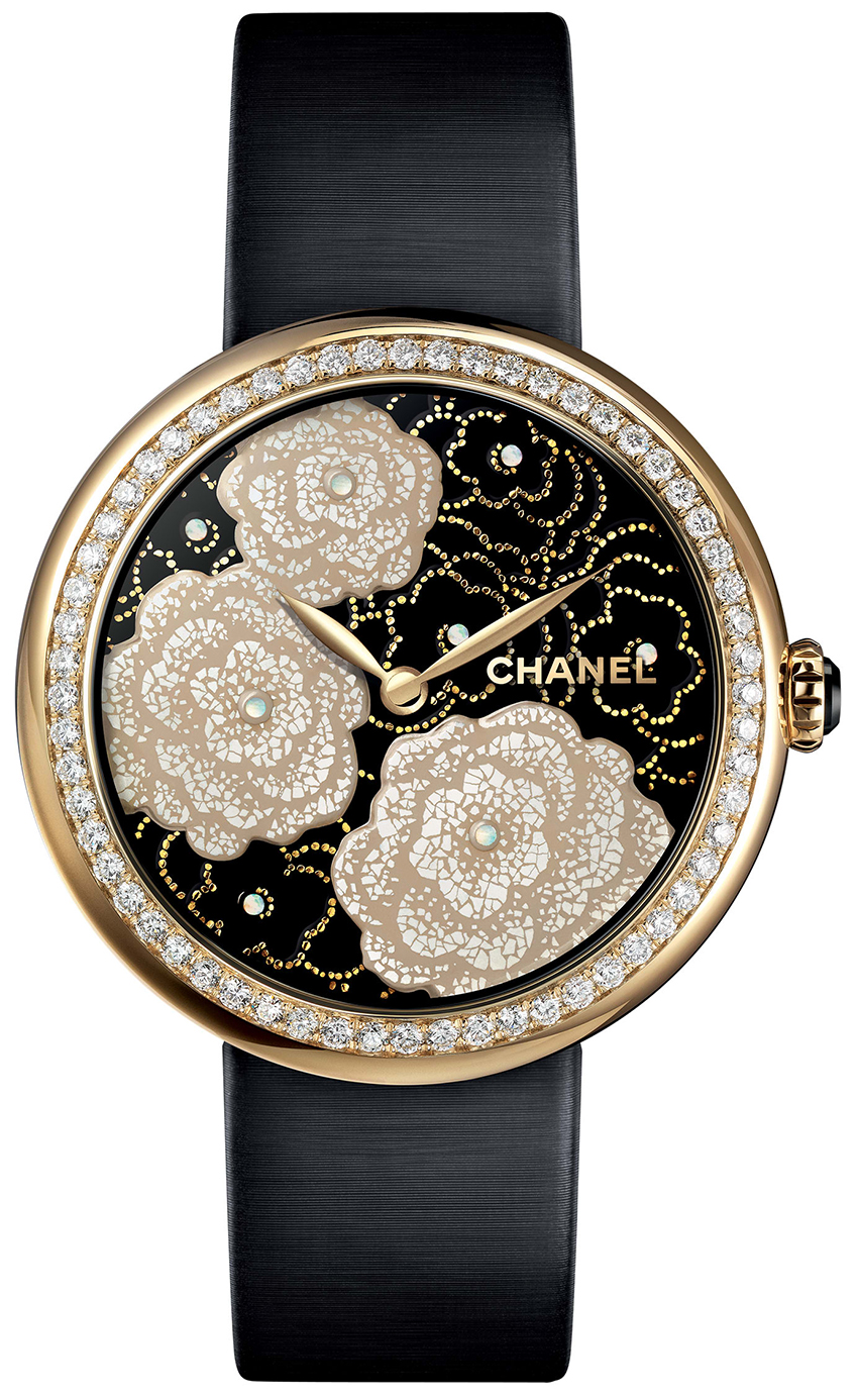 2273e9c65d Chanel Mademoiselle Prive 37mm Ladies Watch Model: H3823