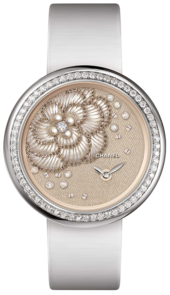 Chanel Mademoiselle Prive Ladies Watch Model H4409
