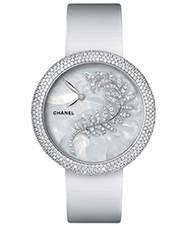 Chanel Mademoiselle Prive Ladies Watch Model H4587