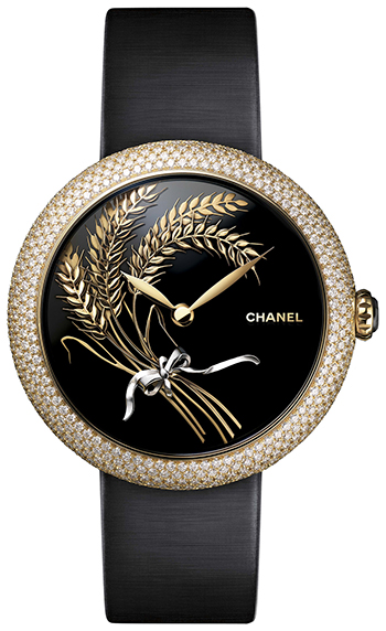 Chanel Mademoiselle Prive Ladies Watch Model H4900