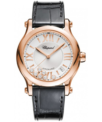 Chopard Happy Sport Round Ladies Watch Model 274808-5001-LBK
