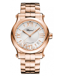 Chopard Happy Sport Round Ladies Watch Model 274808-5002