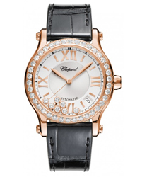 Chopard Happy Sport Round Ladies Watch Model 274808-5003
