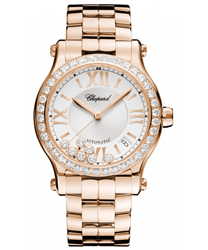 Chopard Happy Sport Round Ladies Watch Model 274808-5004