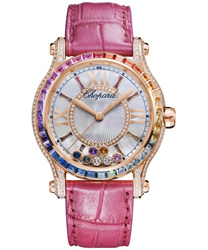 Chopard Happy Sport Round Ladies Watch Model 274891-5007