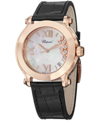 Chopard Happy Sport Ladies Watch Model 277471-5002-LBK