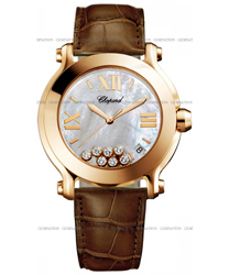 Chopard Happy Sport Round Ladies Watch Model: 277471-5002