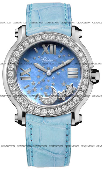 Chopard Happy Sport Ladies Watch Model 278475-2001-LBU